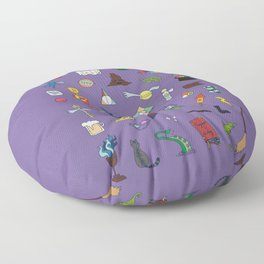 The magical world of Harry   Floor Pillow