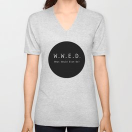 What Would Elon Do? Unisex V-Neck