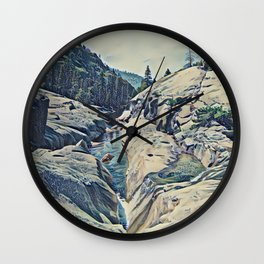 Kings Canyon, California Wall Clock