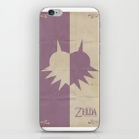 majoras mask iPhone & iPod Skins featuring Majoras Mask by cbrucc