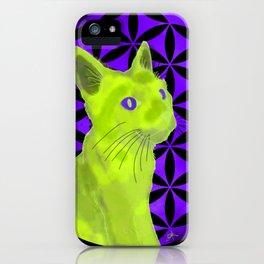 Spiritual guide : The Cat iPhone Case