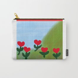 Hearts from a Rose Carry-All Pouch