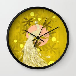 Roosting Wall Clock