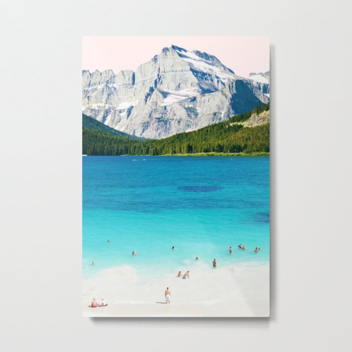 Summer Vibes #society6 #decor #buyart Metal Print