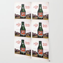 """Vintage Ads: 7Up """"The Fresh Up Family Drink"""" Wallpaper"""