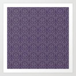 Posh Purple Art Print