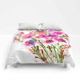 Bouquet Pink Comforters