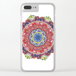Wheel of Knowledge Clear iPhone Case