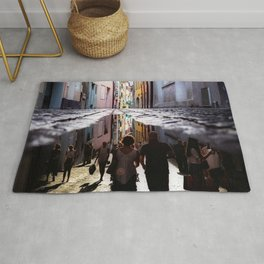 A Reflection of City Life by GEN Z Rug