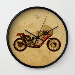 Ducati Number 9 Wall Clock