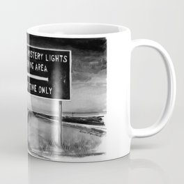 Marfa Mystery Lights, Texas Coffee Mug