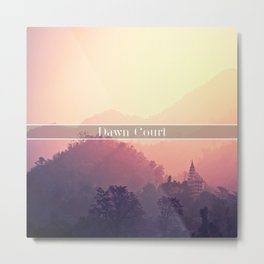 Dawn Court Metal Print