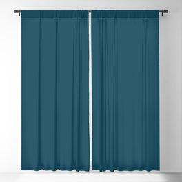 DPCSD dark blue color Blackout Curtain