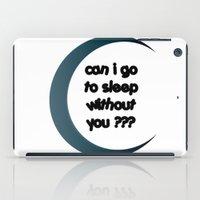sleep iPad Cases featuring Sleep by Cs025
