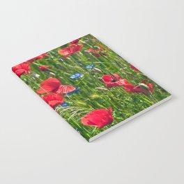 RED POPPY SOUND Notebook