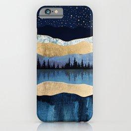 Midnight Lake iPhone Case