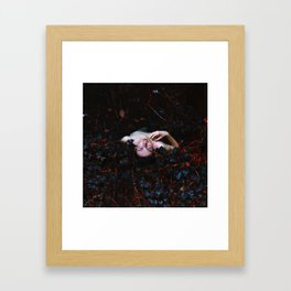 capturing life Framed Art Print