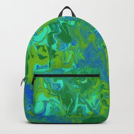 Paint Pouring 36 Backpack