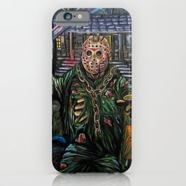 Friday the 13th Jason Voorhees iPhone Case