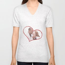 April and Jackson Unisex V-Neck