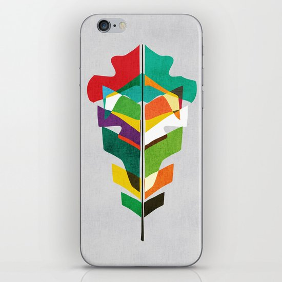Before the last leaf falls iPhone & iPod Skin