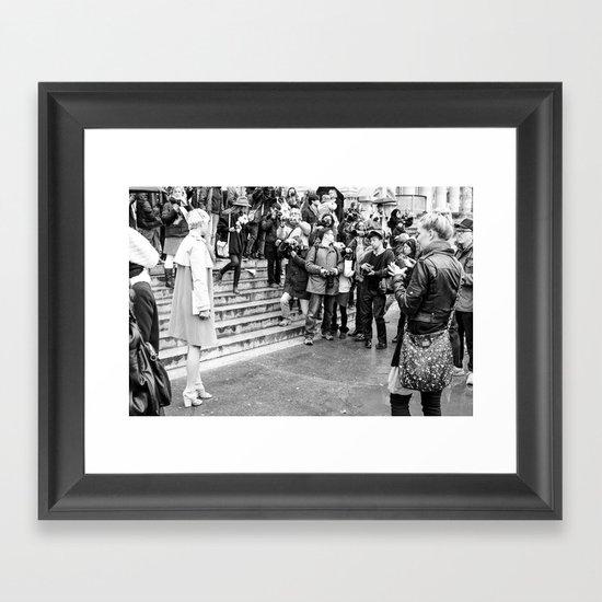 The Scrum Framed Art Print