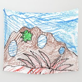 Coral Polyps Wall Tapestry