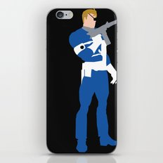 Nick Fury iPhone & iPod Skin