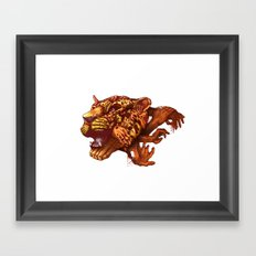 power of unity Framed Art Print