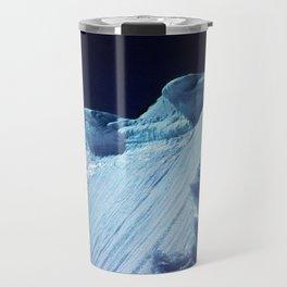 NATURE'S WONDER #2 - Glacier in the dark #art #society6 Travel Mug