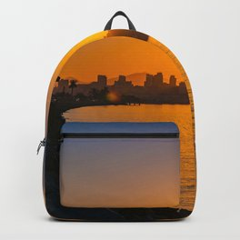Harbor Island Sunrise Backpack