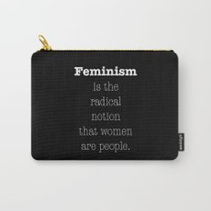 Feminism is... Carry-All Pouch