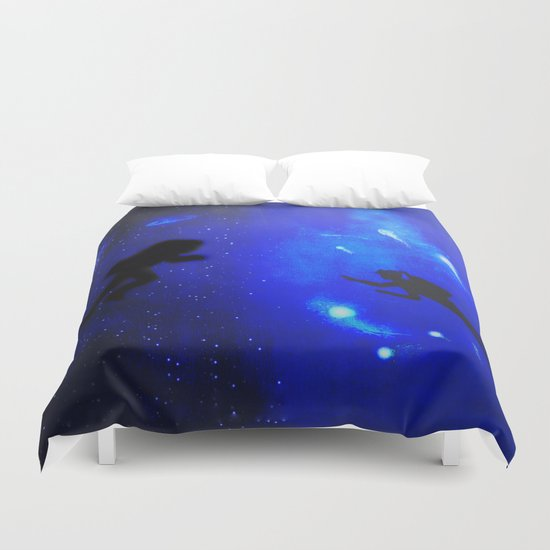 spacewater Duvet Cover