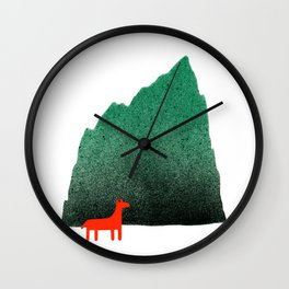 Man & Nature - Island #1 Wall Clock