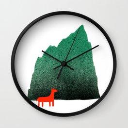Man & Nature - Island #1 Wall Clock