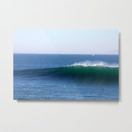 Middle Peak, Santa Cruz Metal Print