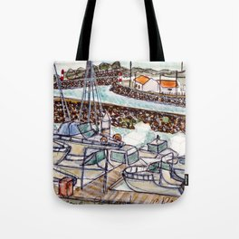 The Harbour 2, Figueira Da Foz, Portugal Tote Bag
