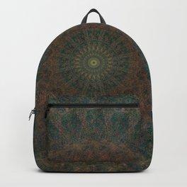 Chrysanthemum Mandala Backpack