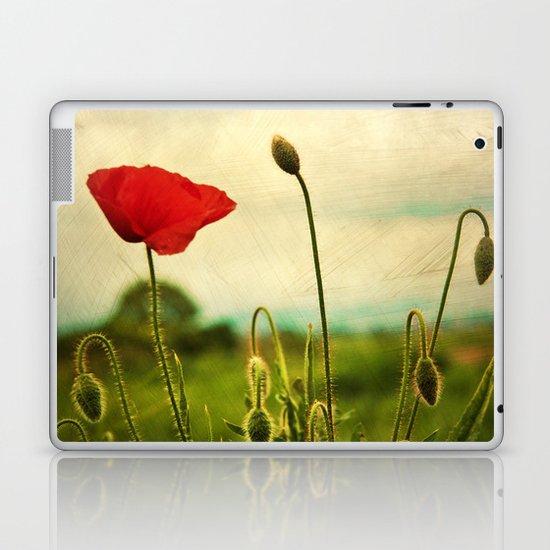 Red Poppy Laptop & iPad Skin