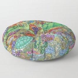 Turtle Love Floor Pillow