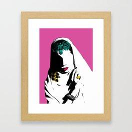 Samia Jamal Framed Art Print