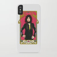 marc iPhone & iPod Cases featuring Marc Bolan by Saoirse Mc Dermott