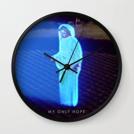 StarWars - Hologram Wall Clock