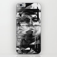 kurt cobain iPhone & iPod Skins featuring Kurt by nicebleed