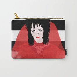 Lydia in Red Carry-All Pouch