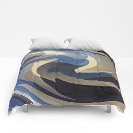 Bluetan Swirl Comforters