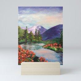 Riverbend in Spring Mini Art Print