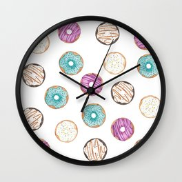 Lots a Donuts Wall Clock