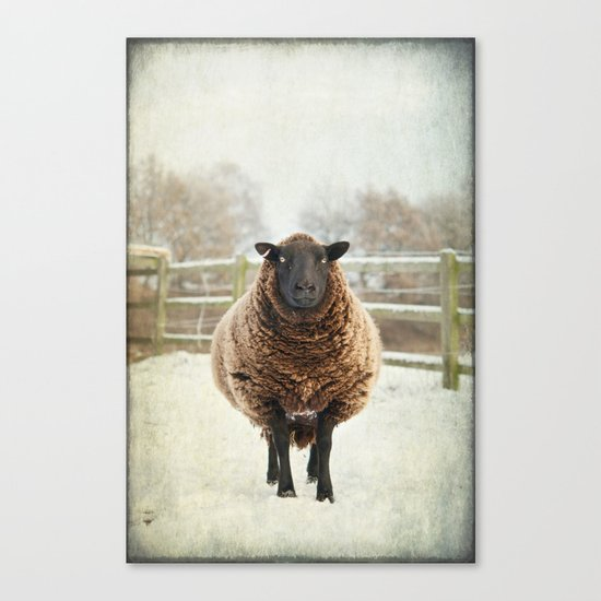 Zombie sheep Canvas Print