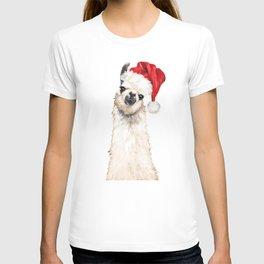 Christmas Llama T-shirt